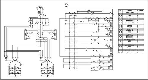 Принципиальная схема панели ДК-160М