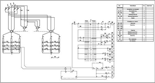 Принципиальная схема панели ДТА-160