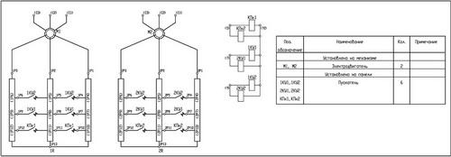 Принципиальная схема панели ДТА-161